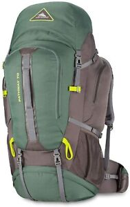 High Sierra Pathway Hiking Backpack 70L Pine/Slate/Chartreuse 79549-5744