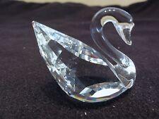 Swarovski Silver Crystal Swan - Beautiful - Retired