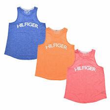 Tommy Hilfiger Sport Womens T-Shirt Tank Top Lightweight Graphic Logo Tee L Xl