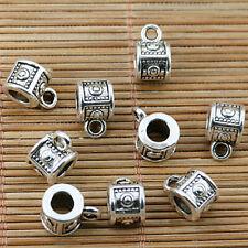 10pcs Tibetan silver eys bail connectors EF1822