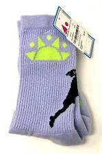 CHILL LIFE Womens Lacrosse Silhouette Socks Adult Size S - Purple/Black