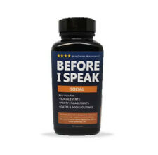 Before I Speak - SOCIAL - Helps Control Nervousness & Social Anxiety