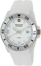 Swiss Military Hanowa Men's Ranger SM06-4200.21.001.01 White Silicone Quartz ...