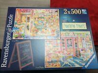Ravensburger Teatime Treats 2 x 500 Piece Jigsaw Puzzle Aimee Stewart 140800