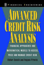 Advanced Credit Risk Analysis: Financial Approaches and Mathematical Models...