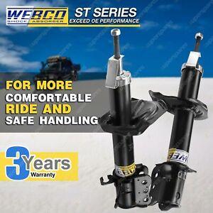 2 Rear Strut Webco Pro Shock Absorbers for MAZDA 323 2WD BJ Astina BG BJ Protege