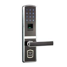 Digital Door Lock Touch Screen Fingerprint Password Keyless Smart Home Security