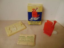 Vtg Automatic Needle Threader w/ Thread Cutter w/ Box & Instructions Hong Kong