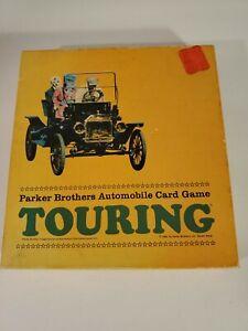 Vintage 1965 Parker Brothers TOURING Automobile Card Game, Cards Still Sealed