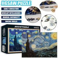 1000 Pieces Jigsaw Puzzles Starry Sky Kids Adults Learning Education Fun Xmas