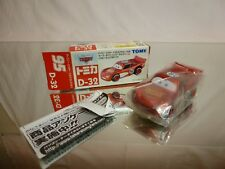 TOMY D-32  - CARS DISNEY PIXAR   - GOOD CONDITION IN BOX