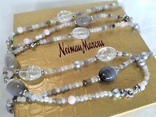 "David Yurman RARE Tweejoux Multi Stone Necklace - 48"" length - Stunning! $1850"
