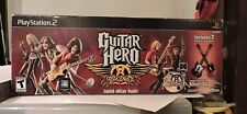 GUITAR HERO: AEROSMITH LIMITED EDITION BUNDLE SONY PLAYSTION 2 COMPLETE IN BOX