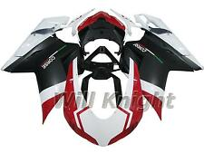 Fairing Kit for Ducati 848 1098 1198 2007 2008 2009 2010 2011 Black White Red