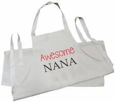 Super nana-coton naturel (crème) perceuse tablier de grand-mère
