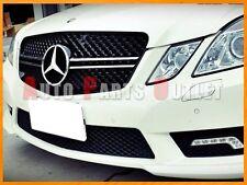 2010-2013 M-BENZ E63AMG Style Chrome/Black Front Grille For W212 E250 E350 E550