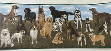 Dog Wallpaper Border Nature Pug Lab Husky Terrier Beagle Imperial 5 yrds/4.57m