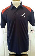 Atlanta Braves Polo Shirt - Mens Small