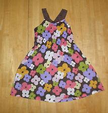 GYMBOREE GLAMOUR SAFARI FLOWER PRINT DRESS GIRLS SIZE 7 SPRING SUMMER COTTON