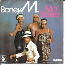 """45 TOURS / 7"""" SINGLE--BONEY M--MA BAKER / A WOMAN CAN CHANGE A MAN--1977"""