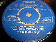 "THE BROTHERS FOUR "" BEAUTIFUL BROWN EYES "" 7"" SINGLE 1960 VG PHILIPS PB 1072"