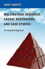 Goertz-Multimethod Research, Causal Mechanisms, (UK IMPORT) BOOKH NEW