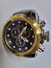 Invicta Reserve Men's Venom Elegant Brown Chronograph Watch Midsize 10817 46mm