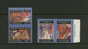 G500 Philippines 1992 Art Tableaux Revolution Paires MNH
