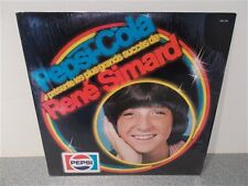 Rene Simard . Les Plus Grands Succes . Shrink Wrap . Pepsi Cola .  LP