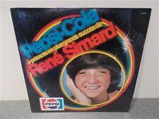 Rene Simard . Les Plus Grands Succes . Shrink Wrap . Pepsi Cola .  LP