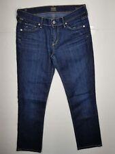 Citizen of humanity Ava Low Rise Straight Leg Jeans Womens Sz 28 Dark Wash Denim