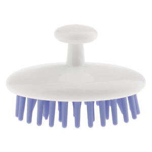 New Silicone Shampoo Shower Washing Hair Massage Scalp Massager Brush Comb