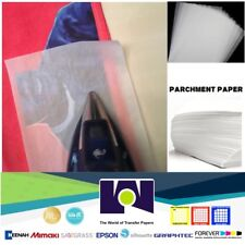 """SILICONE PARCHMENT PAPER FOR HEAT TRANSFER APPLICATIONS (8.5""""x11"""") 200 SHEETS/PK"""