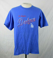 New listing Vintage 90s Los Angeles Dodgers Embroidered T-Shirt Medium Blue Vtg Mlb Baseball