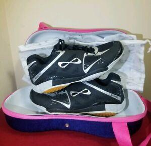 Nfinity BioniQ Boom 3.0 Volleyball shoes size 9 Black  TR#721