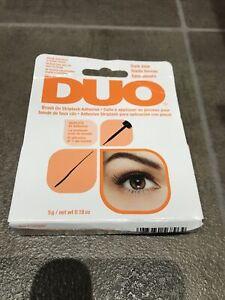 """1 DUO Set Striplash Adhesive Eyelash glue """" 5g Dark Tone """""""