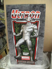 SKETCHED & Signed Bowen AP CLASSIC ULTRON STATUE AVENGERS MARVEL SIDESHOW Bust