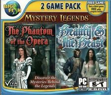 Mystery Legends 2 Game Pack PC The Phantom Of The Opera & Beauty & The Best NEW