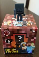 Minecraft Mini-figure Netherrack Series 3 - WITHER SKELETON Newly Deboxed