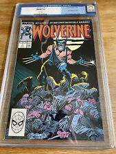 WOLVERINE #1 MT 9.8 CGC WHITE PAGES CLAREMONT STORY JOHN BUSCEMA ART AND COVER
