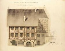 Rordorf-Mahler - 700 ORIGINAL ARCHITECTURAL DRAWINGS - Primary Source Documents