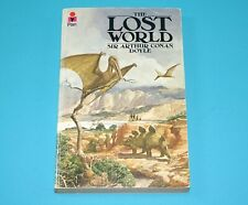 SIR ARTHUR CONAN DOYLE THE LOST WORLD 1912 PAN BOOKS 1977 PRINT PAPERBACK
