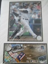 New York Yankees Robinson Cano  Photo File Matted Framed Print issued by USPS