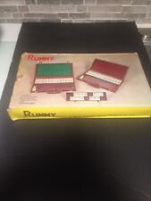 Vintage Complete Rummy Tile Game Excellent Condition