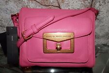 $458! NWT MARC BY MARC JACOBS Blossom Bianca Pink Pebbled Leather Crossbody Bag