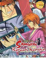 SAMURAI RUROUNI KENSHIN - COMPLETE TV SERIES 1-95 EPS BOX SET (ENG DUB)