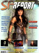 NETHERLANDS SF REPORT MAGAZINE - XENA LUCY LAWLESS COVER - #20 APRIL 2000 - RARE