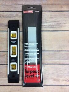 Craftsman 9 Inch Magnetic Torpedo Pocket Level #939829 Made in USA