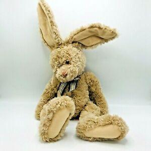 "Russ Berrie Brody Bunny Rabbit Floppy Bunny Brown 25"" Wired Ears"
