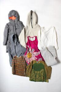 Crewcuts Polo Ralph Lauren Girls Zip Up Jackets Knit Tees Gray Size 8 Lot S/7/8